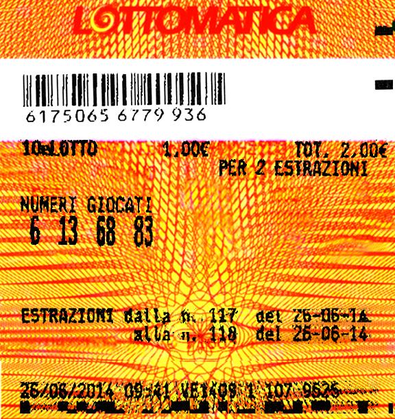 Lotto acquista lottomio del gioved e vince subito 100 for 10 e lotto ogni 5 minuti di oggi