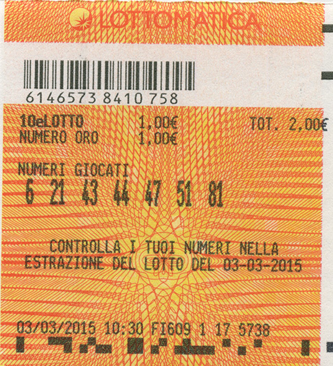 Snai 10 e lotto