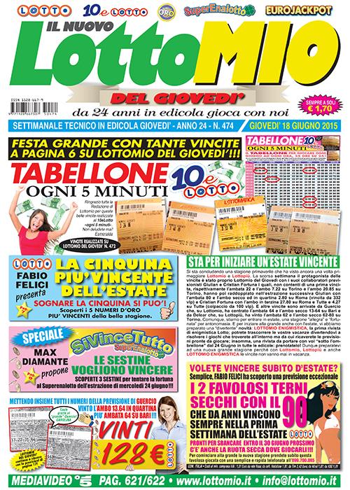 News lottomatica vincite in italia al lotto 10elotto e for Estrazione del 10elotto ogni 5 minuti