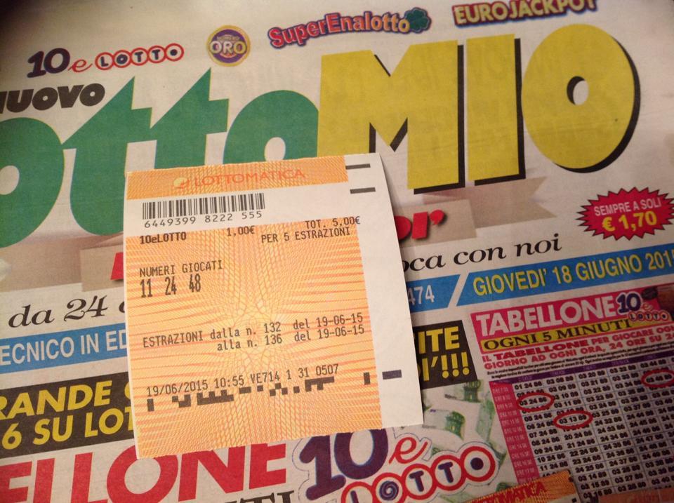 10 e lotto ancora vincite continue con il nostro for Estrazione del 10 e lotto ogni 5 minuti