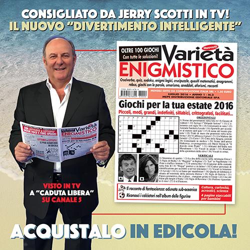 Varietà Enigmistico DOPO sponsorizzazione Gerry Scotti rid