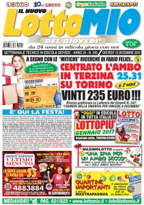 Lottomio del Giovedì n. 549