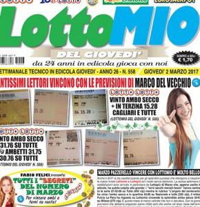 Lottomio del Giovedì n. 558