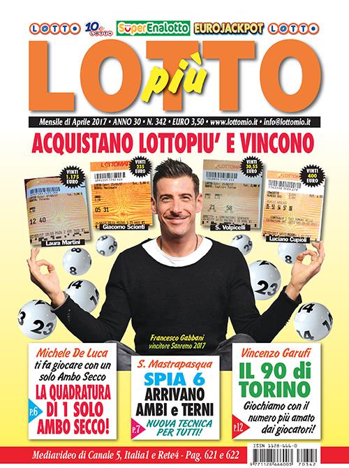 Lottopiu Aprile 2017