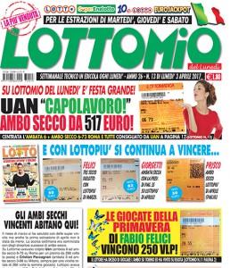 Lottomio del Lunedì n. 13