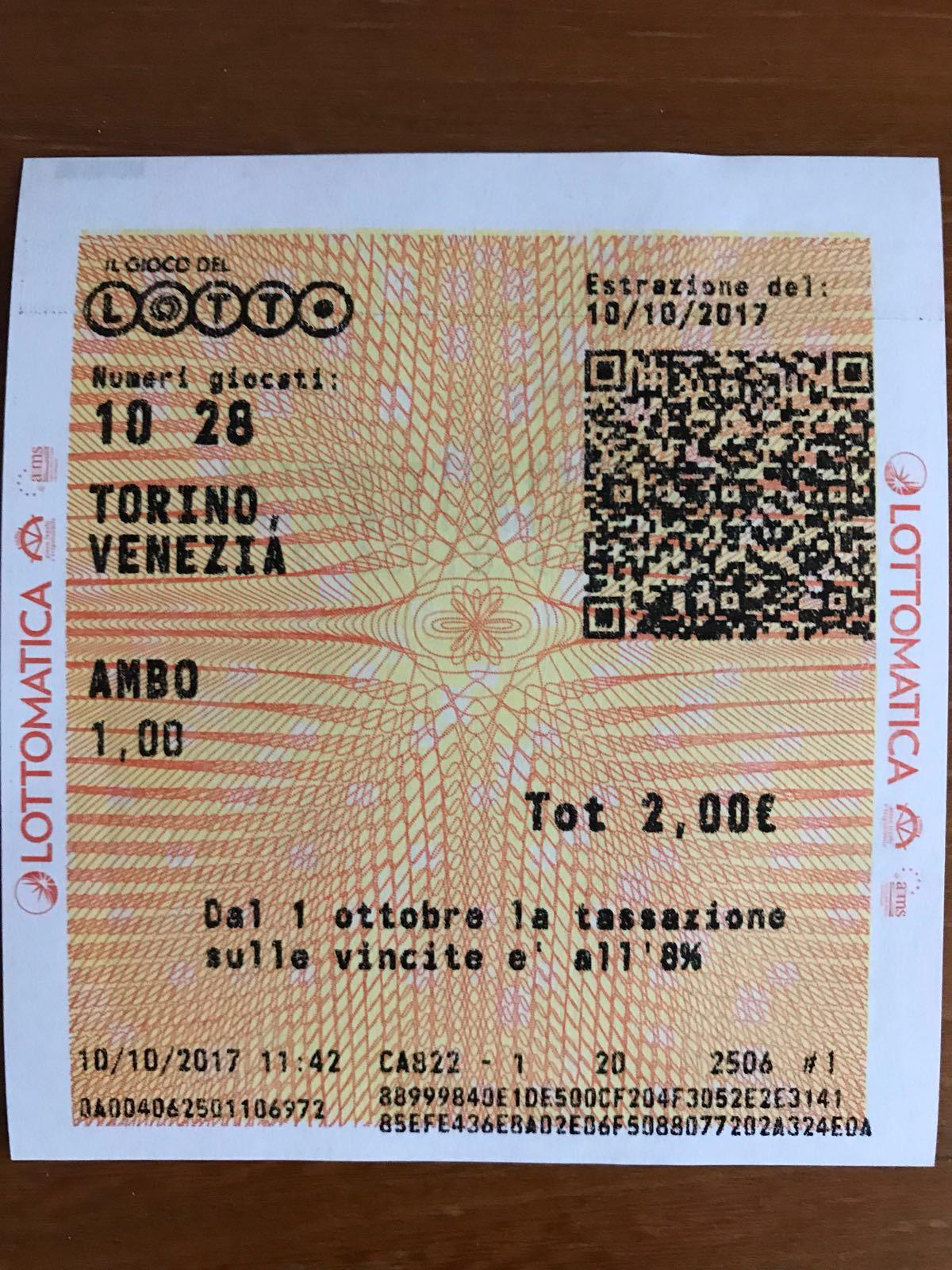 SMS ULTIMO MIN GARGIULO - AMBO S. 10.28 TO 5C 3