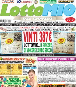 Lottomio del Giovedì n. 589