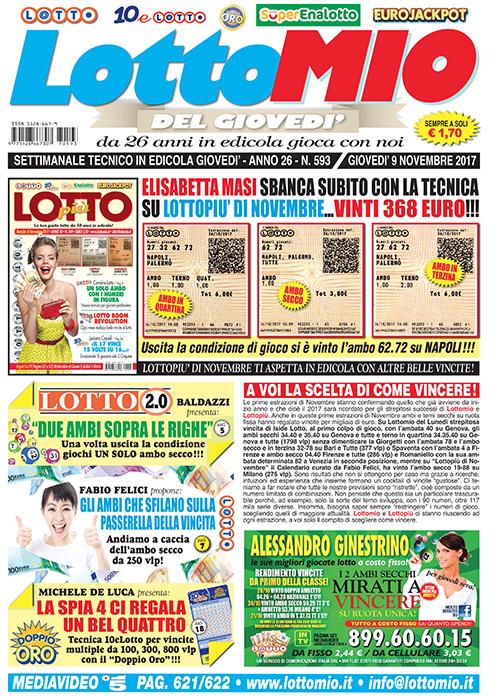 Lottomio del Giovedì n. 593