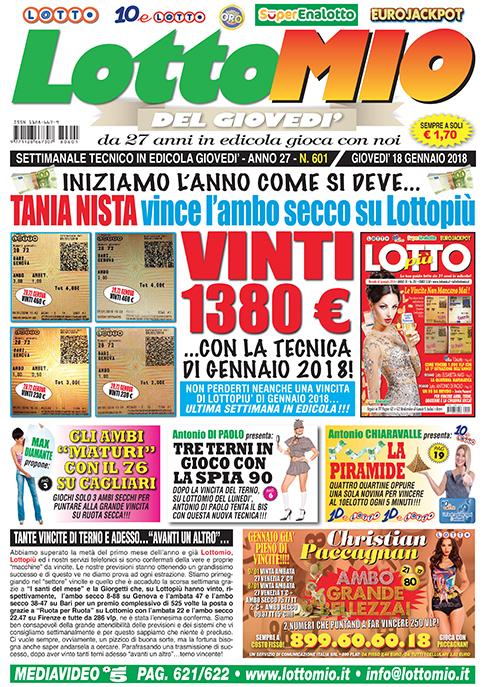 Lottomio del Giovedì n. 601