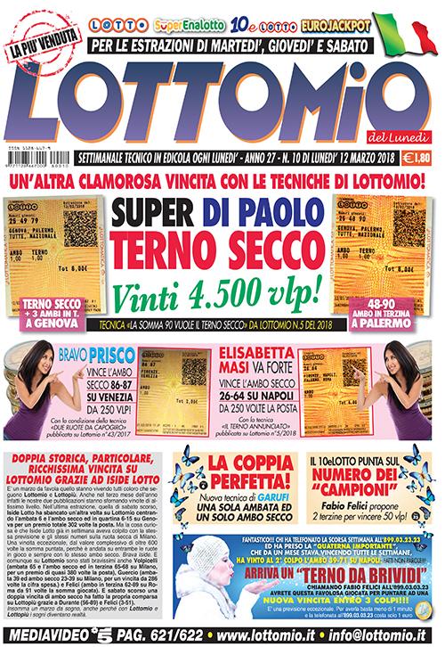 Lottomio del Lunedì n. 10