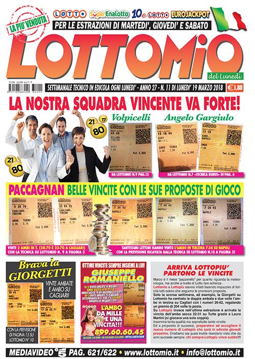 Lottomio del Lunedì n. 11