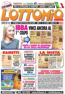 Lottomio del Lunedì n. 09