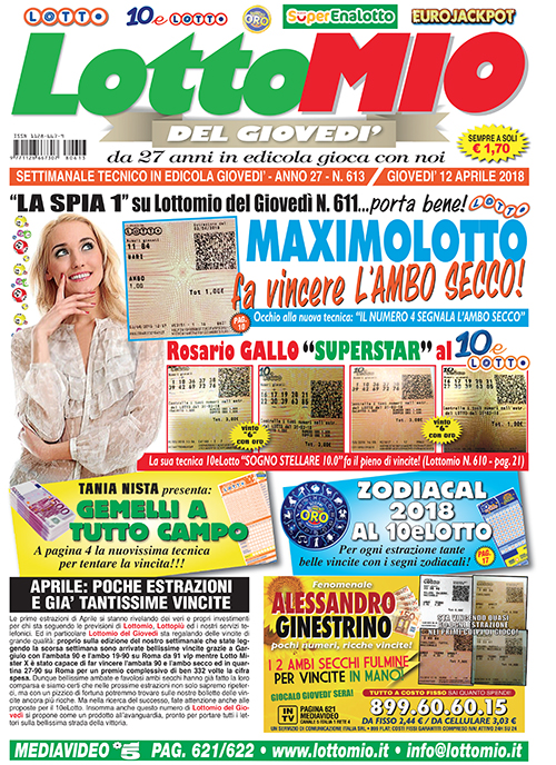 Lottomio del Giovedì n. 613