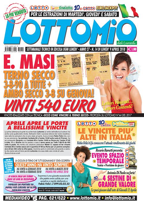 Lottomio del Lunedì n. 14