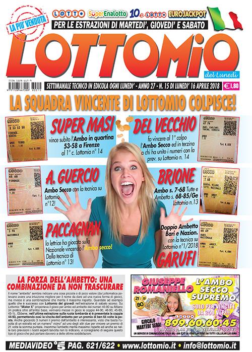 Lottomio del Lunedì n. 15