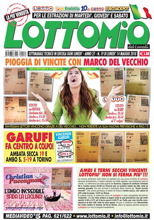 Lottomio del Lunedì n. 19
