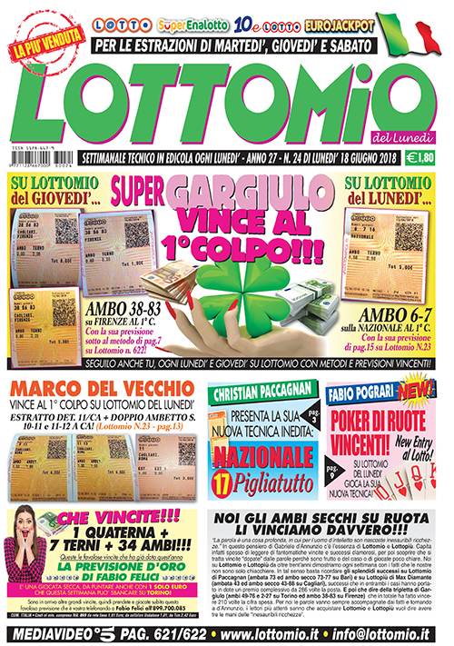 Lottomio del Lunedì n. 24