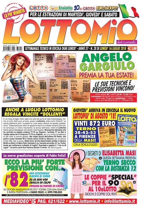Lottomio del Lunedì n. 28