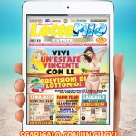 Tablet con Lottomio estate 2018