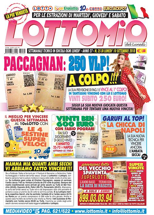 Lottomio del Lunedì n. 35