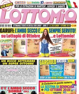 Lottomio del Lunedì n. 38