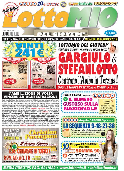 Lottomio del Giovedì n. 668