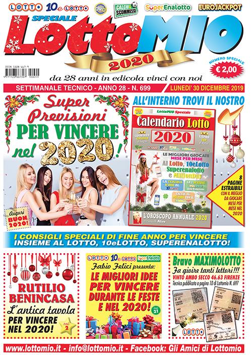 Da Oggi Lunedì 30 Dicembre In Edicola Lottomio Speciale 2020